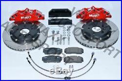 20 FI330 02X V-Maxx Grand Frein Kit pour Fiat 124 Tous Modèles Inclus Abarth 16