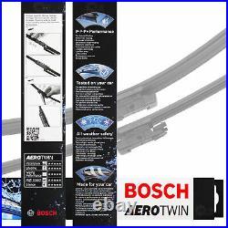 4x Lame 3397007466 650mm/380mm Aerotwin Kit BOSCH AM466S