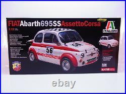 62854 Italeri 4705 Fiat Abarth Assetto Corsa Modèle 112 Kit Neuf Dans Ovp