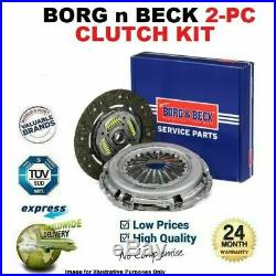 BORG n BECK 2PC Kit Embrayage pour Abarth 500 1.4 2008- Sur
