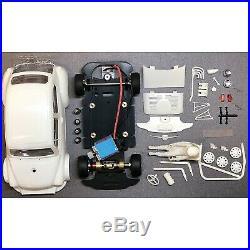 BRM FIAT ABARTH 1000 TCR Kit Blanc Complet châssis préassemblé