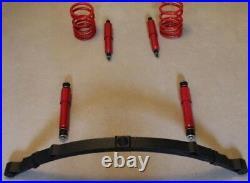 Classique Fiat 500 126 Abarth Sport Surbaissé Suspension Kit Ressorts Feuille