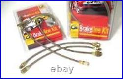 Conduites de Frein en Acier/Brakeline Kit Fiat Grande Punto Abarth