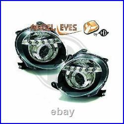 DIEDERICHS Kit de projecteurs principaux ABARTH 500 / 595 312 FIAT 500 312