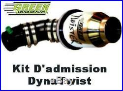 DWA205 Kit admission Dynatwist pour Fiat 500 595 ap08 1.4L 16V Turbo Abarth Gr