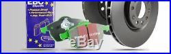 EBC Avant Frein Kit Greenstuff Plaquettes Et L L Disques Pour Abarth 595 1.4T