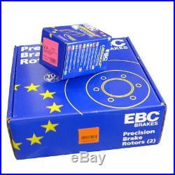 EBC B02 Freins Kit Avant Revêtements Essuie-Glace Pour Abarth Grand Punto (199)