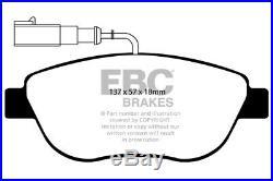EBC B04 Kit de Freins Avant Revêtements Essuie-Glace Pour Abarth 500 500C 595