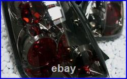Feux Arrière Kit Fiat 500 500C 2007- Abarth Berline avec Hayon Cabrio Noir Fumee