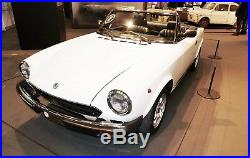 Fiat 124 Spider Grille Calandre Cadre Chrome Moulure 1970-1985 Acier Inoxydable