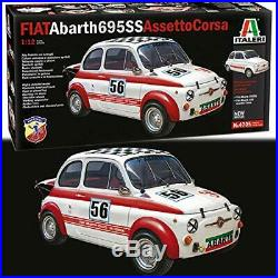 Fiat Abarth 695 SS / 695SS A Plastic Kit 112 Model 4705 ITALERI