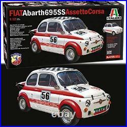 Fiat Abarth 695 Ss/695SS À Plastique Kit 112 Model 4705 Italeri