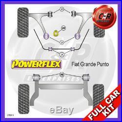 Fiat Punto Evo Abarth (2009 sur) Powerflex Complet Bush Kit