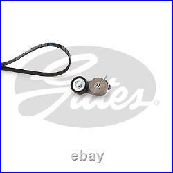 GATES V-Rib Courroie Ventilateur Kit pour Abarth Punto 1.4 (199. AXX1B) 2012-
