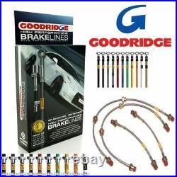 Goodridge Kit Durite Frein SFT0910-6C Pour Fiat Grande Punto Abarth 2008-10