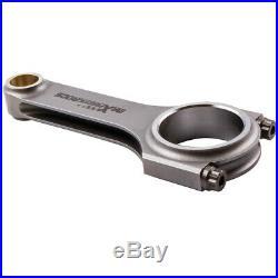 H faisceau bielles Kit Connecting Rods pour Fiat 850 Abarth A112 117mm ARP 2000
