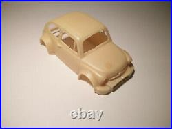 KIT Résine VINTAGE Slot 1/32 Foulag' Production Fiat 500 Abarth Superbe et rare