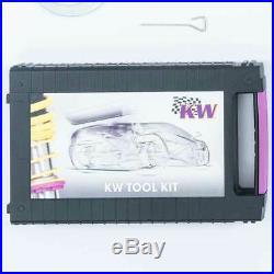 KW Kit Combinés filetés V1 inox 10240021 pour ABARTH 500 500C