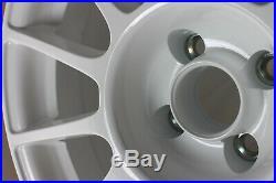 Kit 4 Jantes Alliage 7,5jx17 pour ABARTH PUNTO EVO Grande Punto 199 (white)