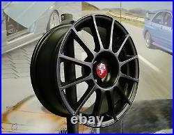 Kit 4 Jantes Alliage 7,5jx17 pour Fiat 500 ABARTH, ESSEESSE, 595, 695, Cabrio B