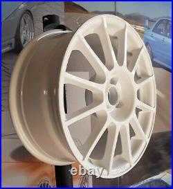Kit 4 Jantes Alliage 7,5jx17 pour Fiat 500 ABARTH, ESSEESSE, 595, 695, Pista W