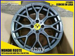 Kit 4 Roues En Alliage 17 Pouces Pour Fiat 500 / Abarth 500 / Alfa / Lancia