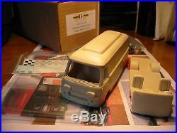 Kit Fiat 625 Furgone Assistenza corse Abarth 1968 IV Model Factory 1/43