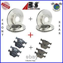 Kit complet disques et plaquettes avant + arrière Abs pour ABARTH 500C 500 #ps