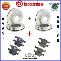 Kit complet disques et plaquettes avant + arrière Brembo ABARTH 500 #gc