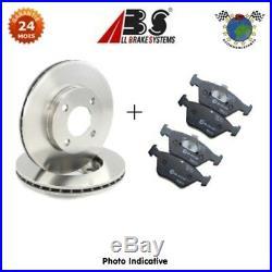 Kit disques et plaquettes de frein arrièr Abs ABARTH PUNTO