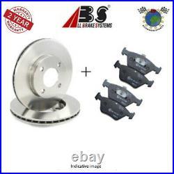 Kit disques et plaquettes de frein avant Abs pour ABARTH 500C 500