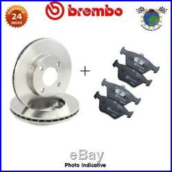 Kit disques et plaquettes de frein avant Brembo LANCIA DELTA MUSA ABARTH 500 #hi