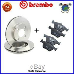 Kit disques et plaquettes de frein avant Brembo LANCIA DELTA MUSA ABARTH 500 #i2