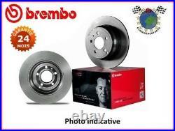 Kit disques frein Brembo arrière FIAT GRANDE PUNTO OPEL CORSA E ADAM ABARTH #gj