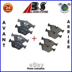 Kit plaquettes de frein avant + arrière Abs ABARTH 500C 500 #ch
