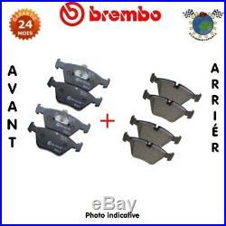 Kit plaquettes de frein avant + arrière Brembo FIAT 500 ABARTH 500C