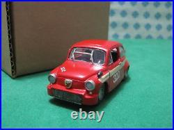 Vintage Fiat 600 Abarth 1967 1/43 AR 15 Kit Monté
